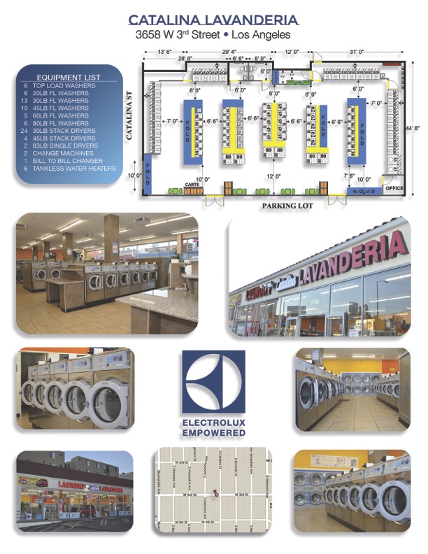 Los Angeles Laundromat Construction by Golden State Laundry Systems, California's #1 commercial laundry distributor, providing the best quality commercial laundry equipment, including washing machines, dryers, and ironers. We proudly serve businesses throughout California, from San Francisco to Los Angeles and San Diego. Golden State Laundry Systems can outfit your laundromat business with the best coin laundry machines. We also provide the best on-premises laundry solutions for commercial laundries, hotels, hospitals, restaurants, and more. Golden State Laundry Systems only sells the best brands: Electrolux, Wascomat, Crossover, Whirlpool and ADC. Contact us today! Your satisfaction is our guarantee.
