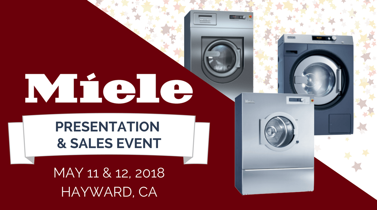 Miele Wet Cleaning Sale Amp Presentation Golden State